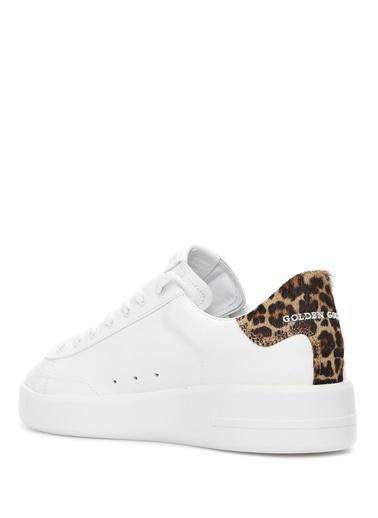 Golden Goose en Goose Pure  Desen Detaylı Erkek Deri Sneaker 101557504 Renkli